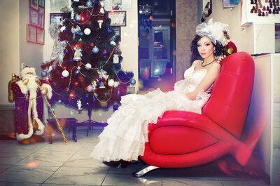 So könnten Sie Ihre Hochzeit zu Weihnachten feiern!