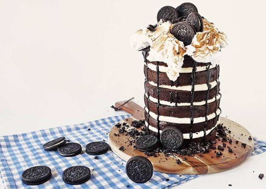 Der Dripping Cake – Ein Hochzeitstorten-Trend, der alle Herzen erobert