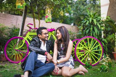 Glamorous Real Wedding of Sanjana and Purusharth: The one with amazing decor ideas