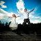 Szalona sesja ślubna