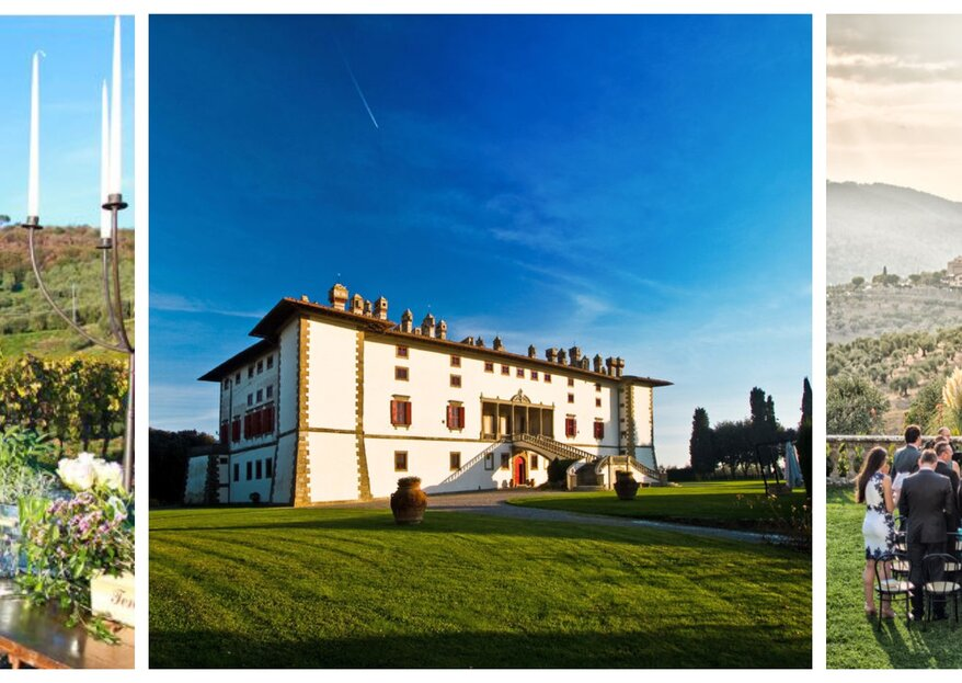 Getting married in the heart of Tuscany – Your dream wedding at Tenuta di Artimino