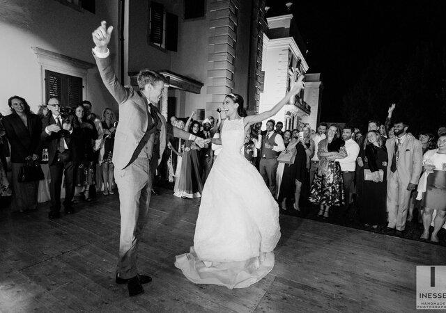 Kate and James' Vibrant Verona Wedding