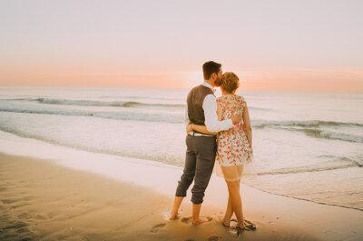 Bruidslook: De romantische bruid
