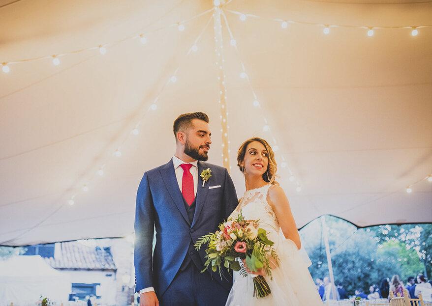 Fiesta, responsabilidad y una nueva aventura: la boda de Ricardo y Esther
