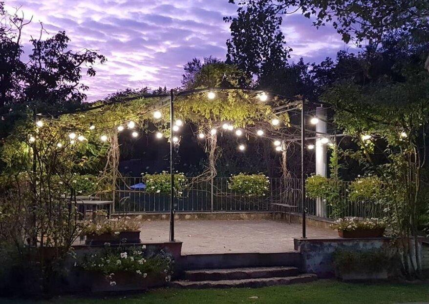 Il Melo Rosso, la location dei sogni se desiderate un matrimonio in stile shabby o country chic, intimo e romantico