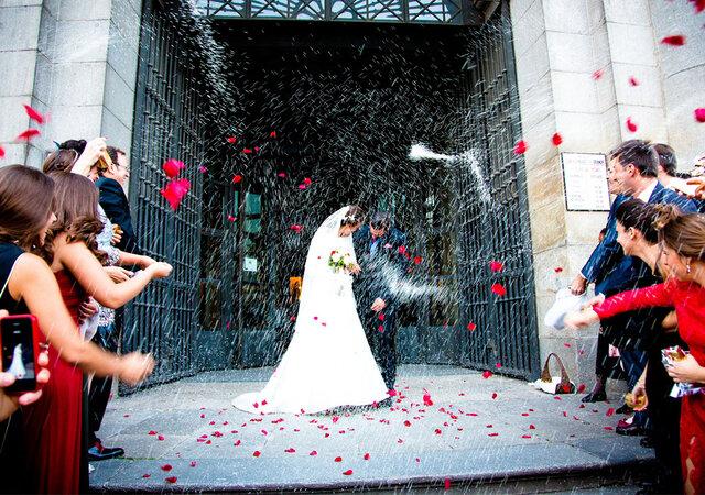 Así plasmó Óscar Parrilla los instantes más efímeros de la boda de Paloma y Bruno