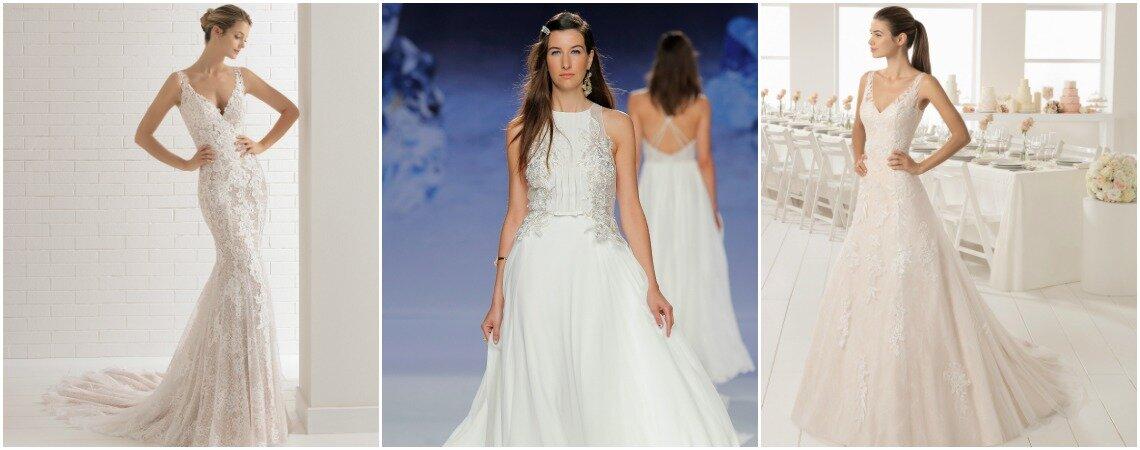 Ausgewählte Brautkleider für Frauen mit großer Oberweite: So finden ...