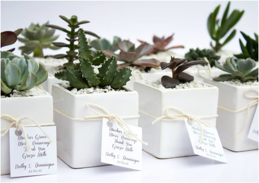 Detalles para agradecer a tus invitados su asistencia a la boda: ¡6 emotivas ideas!