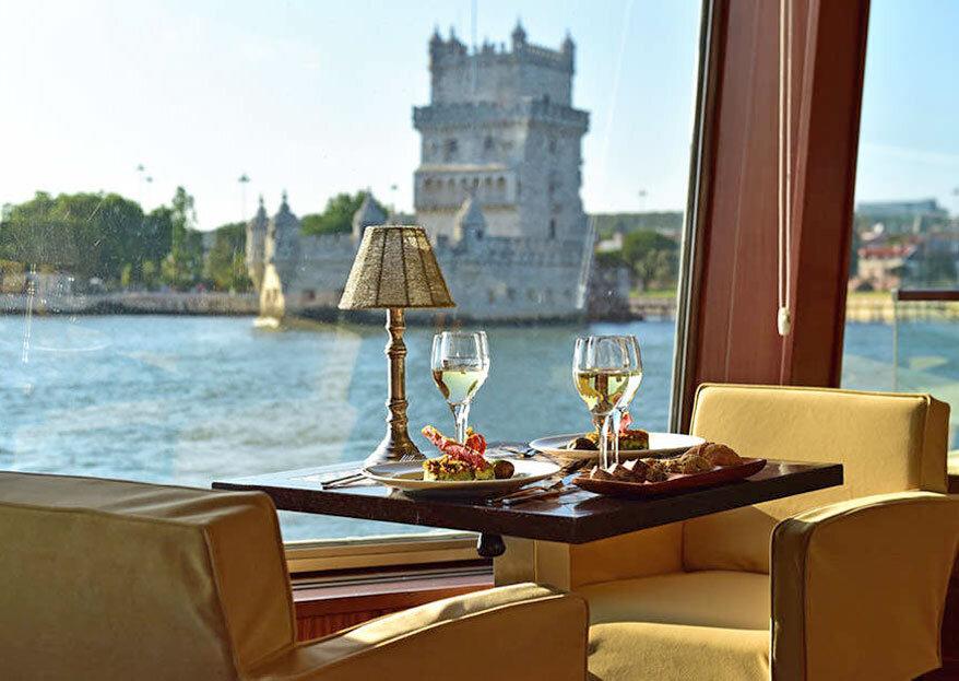 Seaventy: Case com glamour a bordo de um navio com vista para Lisboa
