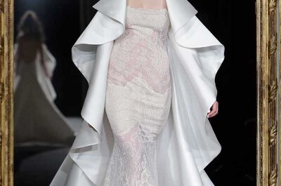 Wonderful Surprises with the Bridal Designs at Paris Fashion Week