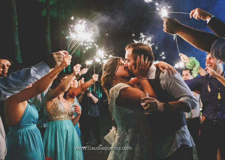 """Os espaços mais incríveis para celebrar o seu """"sim, aceito!"""": você não pode perder!"""