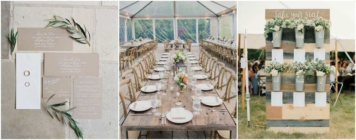 Dekoracje ślubne w stylu rustykalnym! Wyjątkowe i bardzo stylowe.