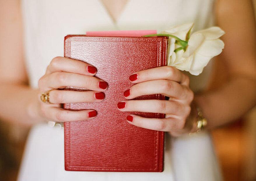 Tendencias en manicura de colores para novias. Los estilos más brillantes del momento
