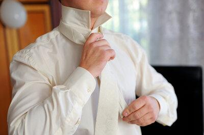 Welche Knotenarten passen für die Hochzeitskrawatte?
