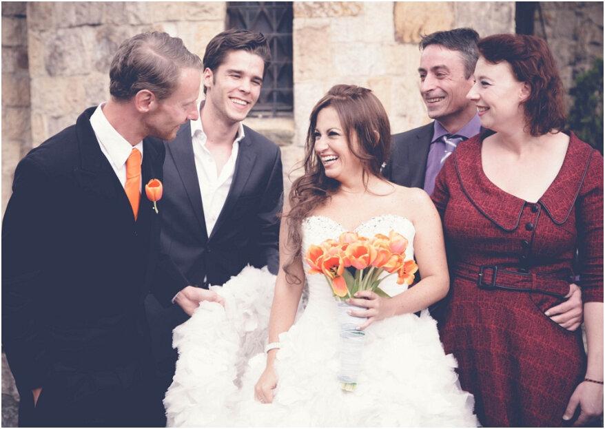 10 cosas que los invitados no deben hacer en una boda