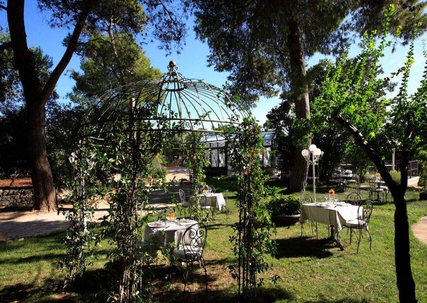 Hotel Park Novecento Resort, una tenuta in pieno stile Liberty per convolare a nozze...