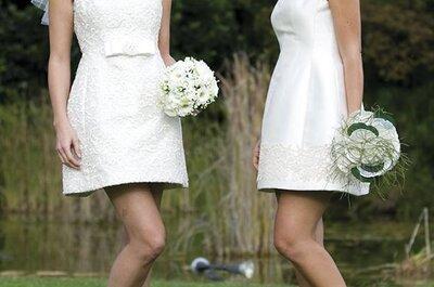 Un abito da sposa corto per le tue nozze? Si, lo voglio!