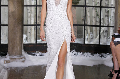 Ines Di Santo Fall/Winter 2015 Bridal Collection: Sensual Romance