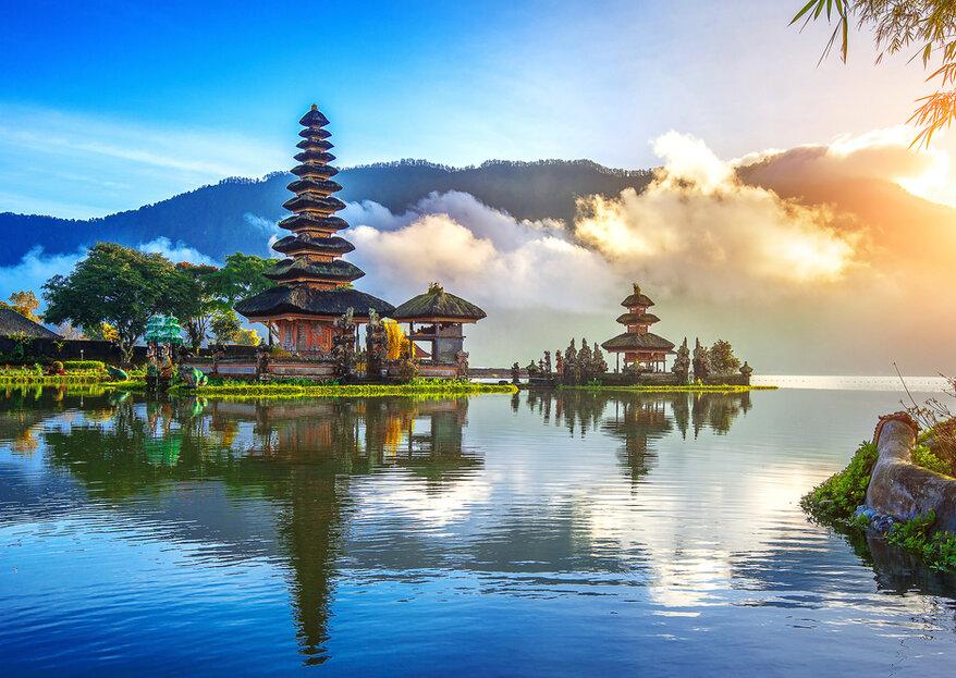 Luna de miel en Indonesia: un viaje exótico a un paraíso en la Tierra