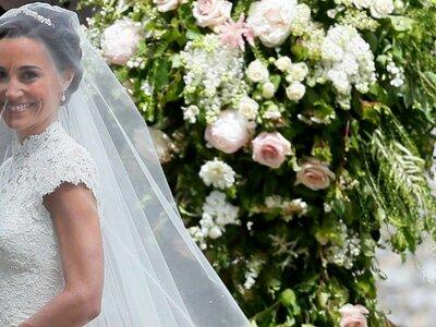 Suknia ślubna Pippa Middleton. Zobacz wszystkie szczegóły ślubu!