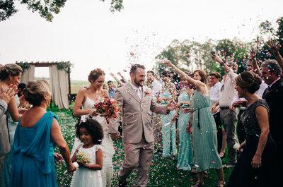 Casamento na fazenda de Fernanda & Amable: ao ar livre diante de um lindo lago!