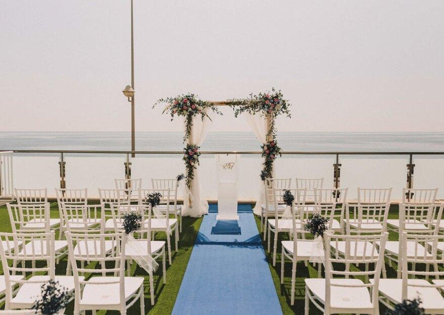 Hotel Perla Marina te asegura una celebración en primera línea de playa