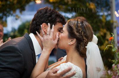 Deborah e Felipe: casamento shabby romântico lindo em meio à Floresta da Tijuca
