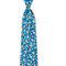 Fancy flower tie in oxford printed silk, Boggi.