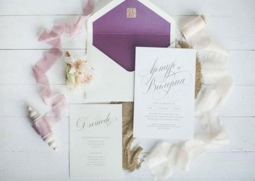 Что писать в свадебном приглашении: этикет и правила
