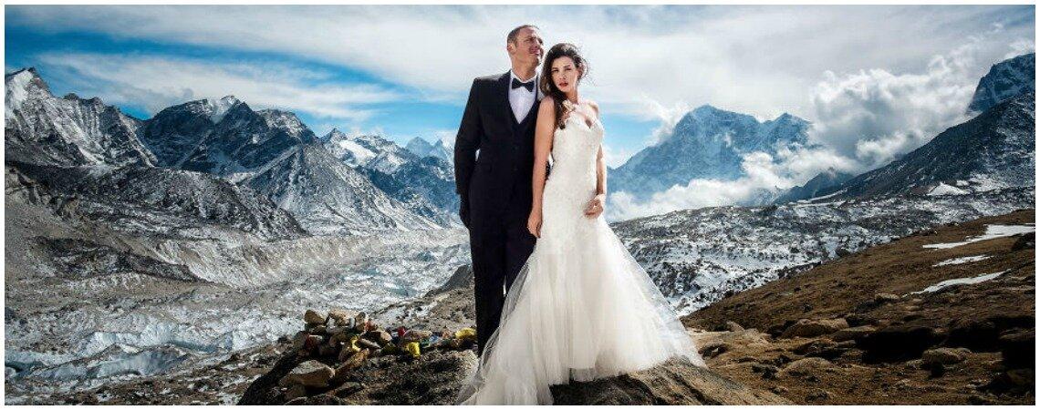 Matrimonio In Alta Quota : Un matrimonio sull everest per amore ad alta quota