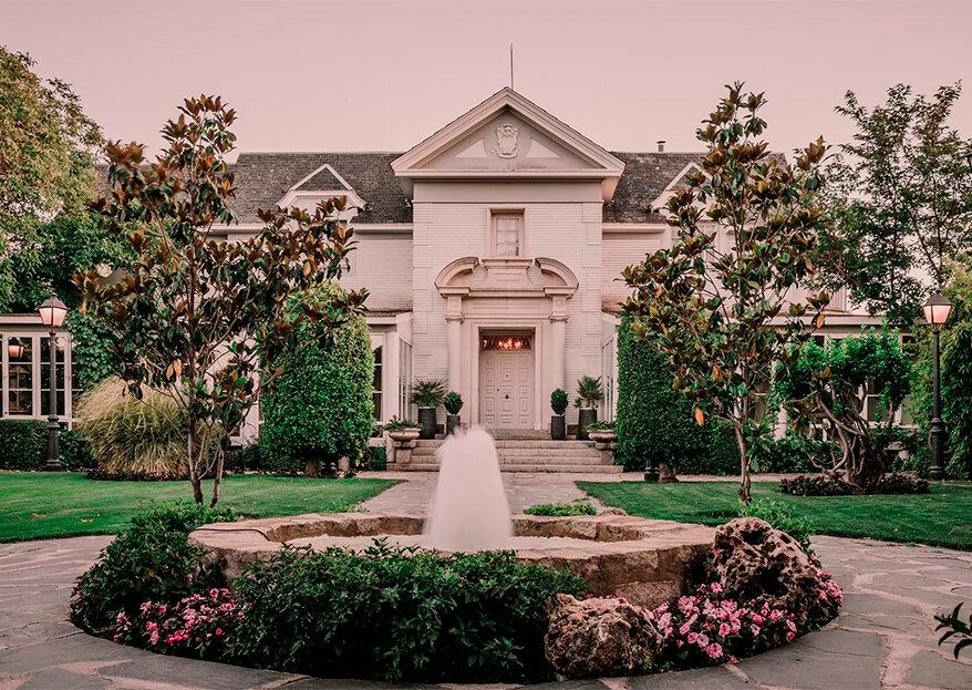 Villa María es el lugar romántico y elegante que buscabas para tu boda cerca de Madrid
