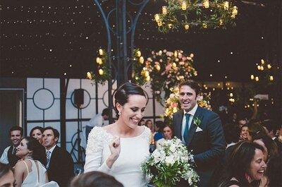 10 claves para que tu boda sea la más divertida sin que pierda la elegancia