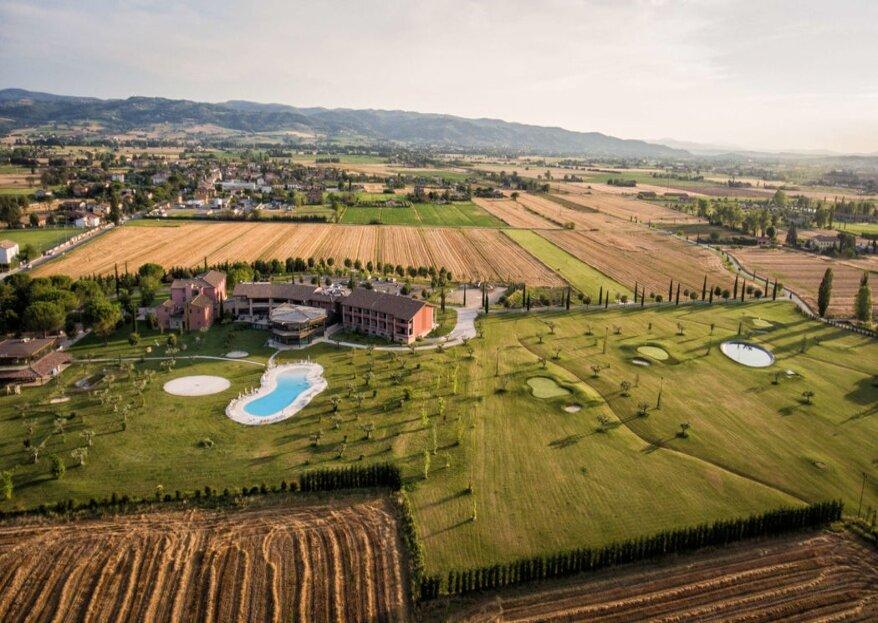 Valle di Assisi: un angolo di paradiso dove potersi sposare ai piedi di Assisi...