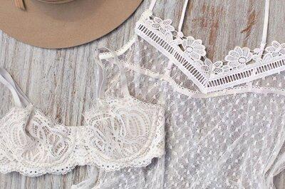 Cómo elegir la lencería perfecta para tu vestido de novia