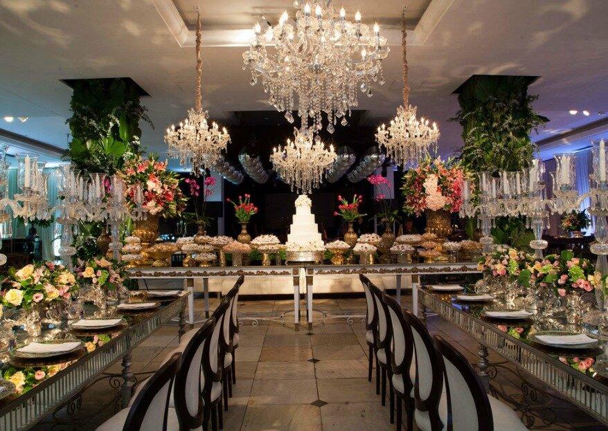 Espaço Buffet Catharina: seu casamento celebrado com requinte e sofisticação em um dos espaços mais elegantes de Belo Horizonte