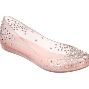 Ballerina in plastica con brillantini