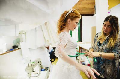 Carol Hungria conquista noivas em São Paulo que desejam vestidos exclusivos e personalizados!
