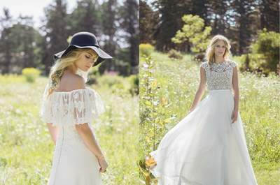 Attention all Boho Brides: Discover Lillian West Autumn/Winter 2017