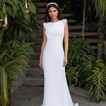 Créditos: Pronovias Cruise 2021 | Modelo do vestido: Reed