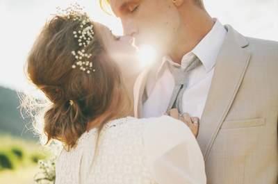 Natürlich schön: Wie Sie florale Elemente in Ihre Brautfrisur integrieren!