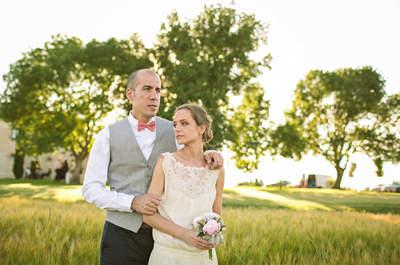 Una boda hipster con sus propias reglas: el gran día de Laura y Xavi