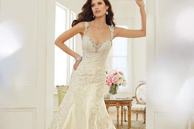 Luxo na colecção de 2015 de vestidos de noiva de Sophia Tolli