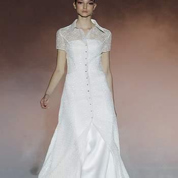La collezione di Rosa Clarà 2013 in esclusiva su Zankyou dalle Passerelle di Barcellona Bridal Week.