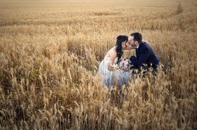 Más que una boda, una fiesta con todas sus personas queridas: la boda de Marc y Tere