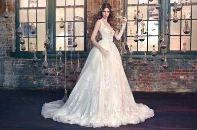 50 Brautkleider im Prinzessinnen-Stil 2016: Raffiniert und extravagant vor den Traualtar!