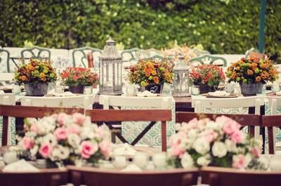 Peças decorativas para cada estilo de casamento, como devem ser? Falamos sobre cada um agora!
