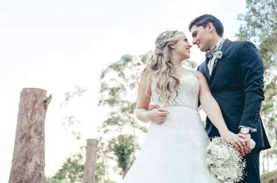 La boda de Sara y Carlos: ¡Un regalo perfecto!