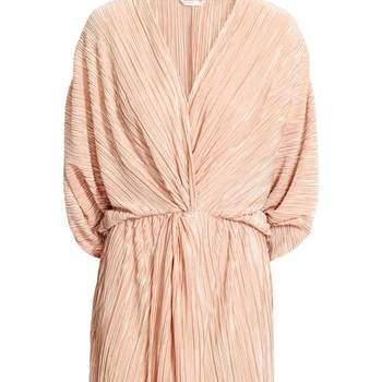 Vestido plissado da H&M (23,99€)