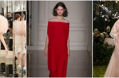 Experience in Video the Best Looks of Paris Spring/Summer Haute Couture Fashion Week