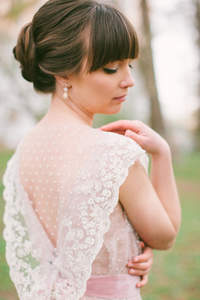 Peinado de novia con capul 2016